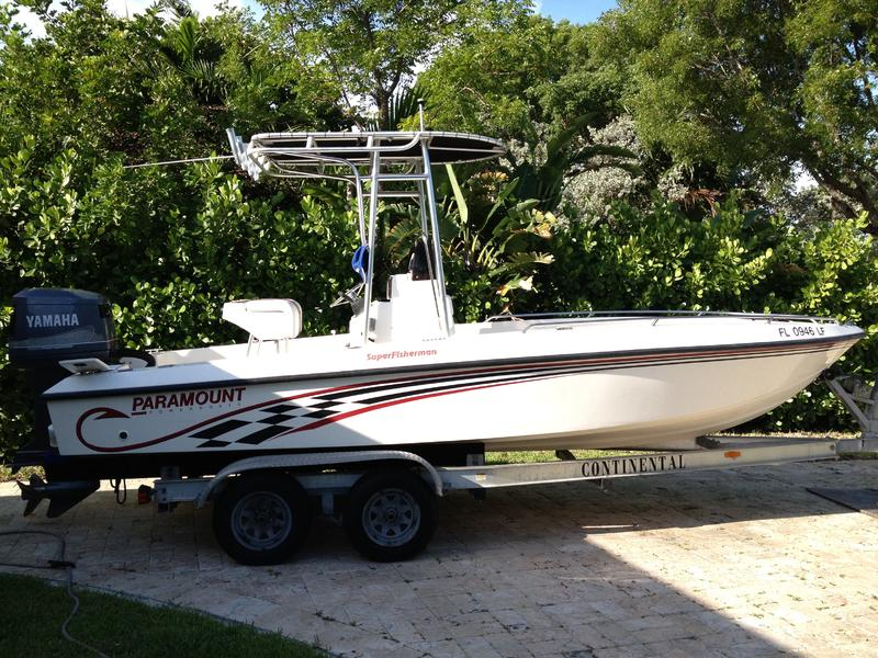 2000 Paramount 21 Superfisherman located in Florida for sale