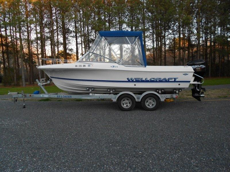 1996 Wellcraft V21 located in Maryland for sale