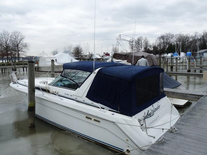 1991 Sea Ray 350 Sundancer located in Delaware for sale