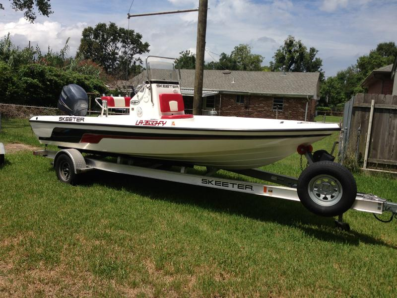 2010 Skeeter ZX 20 Bay located in Louisiana for sale