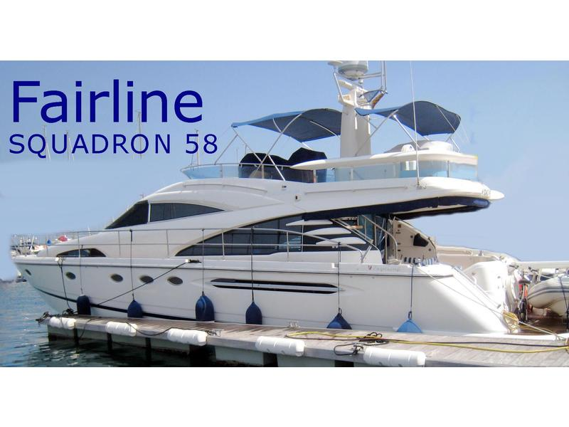 2004 Fairline SQUADRON 58 located in  for sale