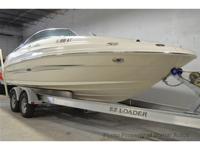 2008 Sea Ray Sundeck 220 located in Florida for sale
