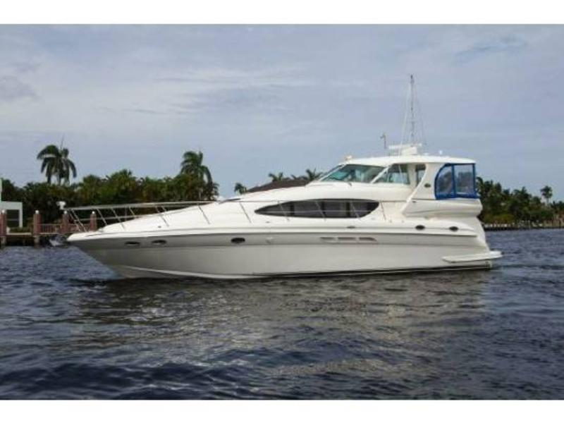 2002 sea ray 480 motor yacht powerboat for sale in florida