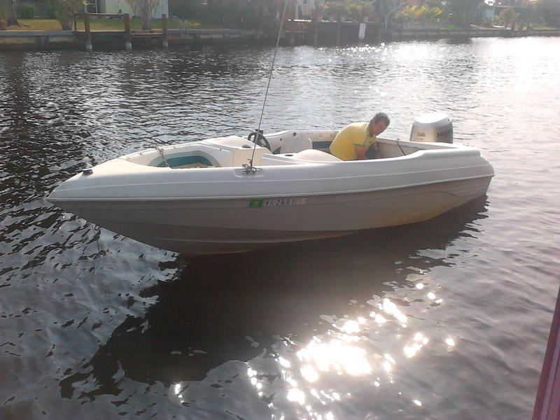 1990 SYLVAN 17 located in Florida for sale