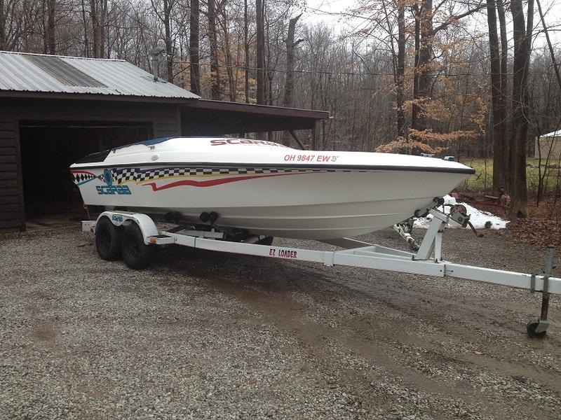 99 Wellcraft Scarab located in Ohio for sale