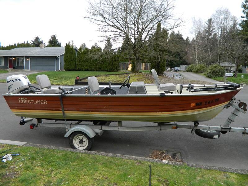 2009 Amf Crestliner Fishhawk Powerboat For Sale In Washington