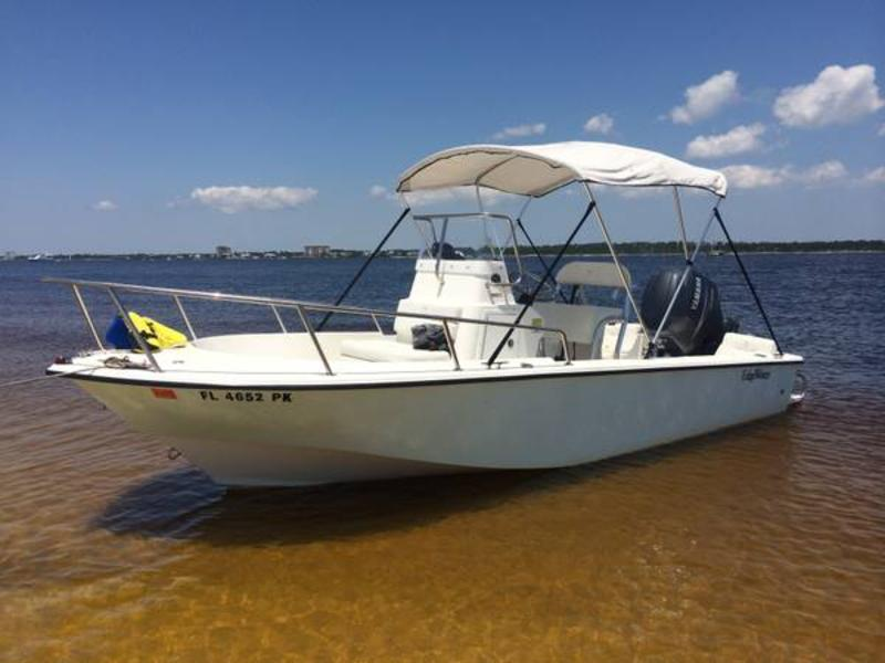 2005 Edgewater 185 CC located in Florida for sale