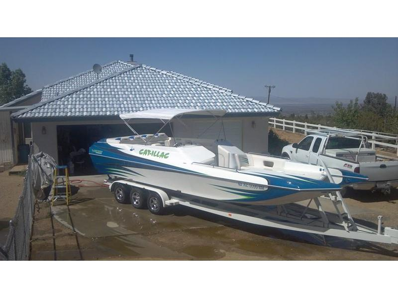 2006 Warlock Powerboats 28 Diablo located in Arizona for sale