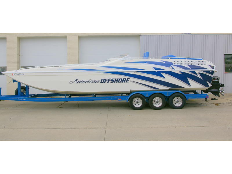 1997 american offshore 3100 powerboat for sale in florida