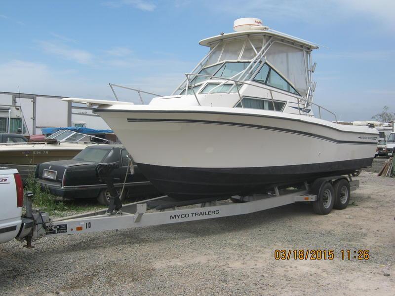 1990 Grady White Sailfish 25 Sport Bridge powerboat for sale