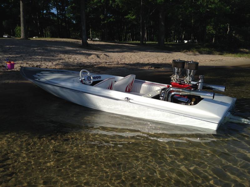 Hustler jet boat