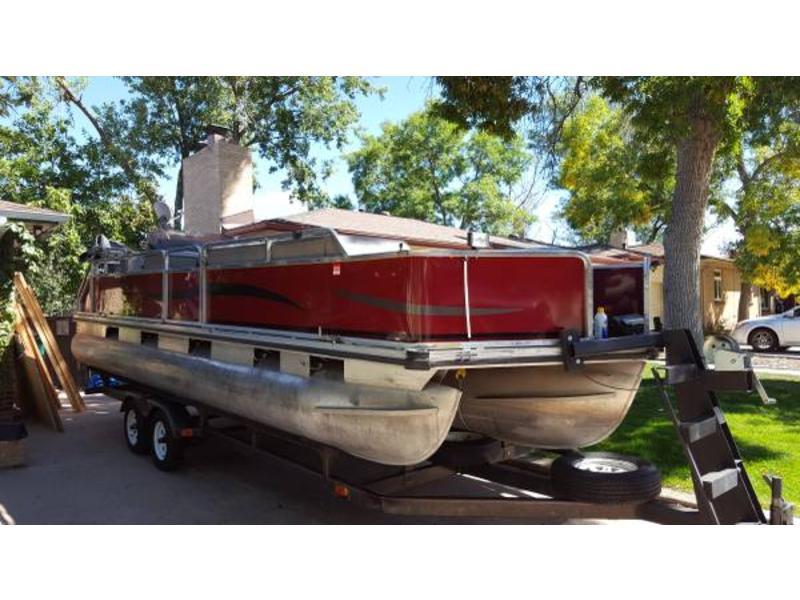 1989 bass buggy pontoon boat pictures nina landey. Black Bedroom Furniture Sets. Home Design Ideas