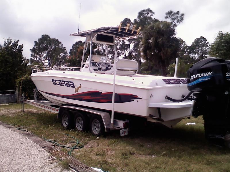 1999 wellcraft scarab 302 sport located in Florida for sale