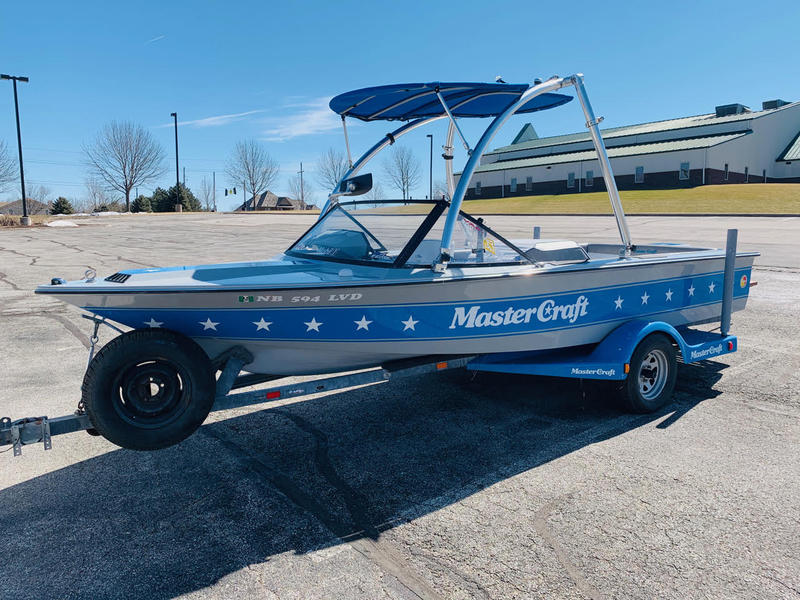 1986 Mastercraft Prostar 190 powerboat for sale in Nebraska