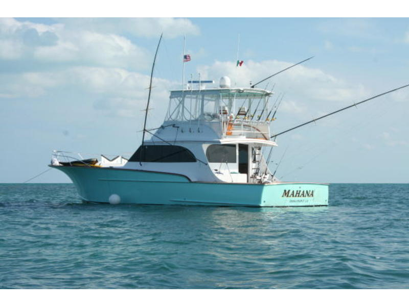 1995 54' Custom Carolina Sport Fisher  located in California for sale