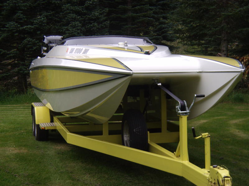 1990 DOUGLAS MARINE SKATER located in Washington for sale