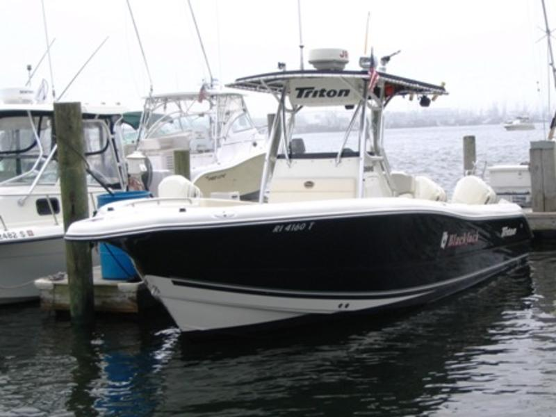 2003 Triton 2690CC located in Rhode Island for sale