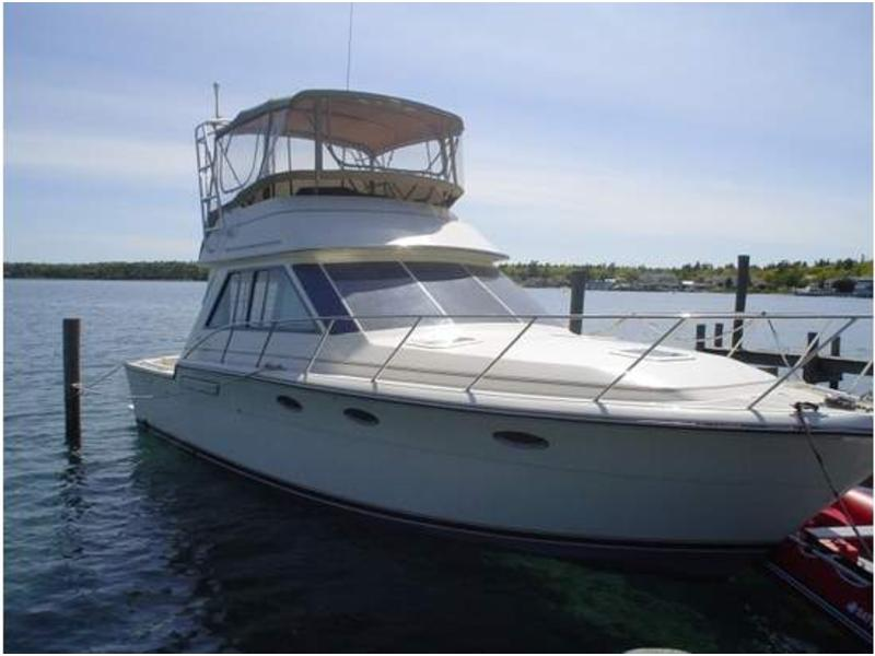 1987 Tiara 36 Convertible located in Michigan for sale