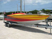 1973 Key Largo Florida 24 Cheetah High Performance Boat