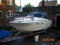 1980 Cleveland Ohio 26 searay weekender