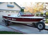 1983 Canyon County California 21 American Skier Ski Boat