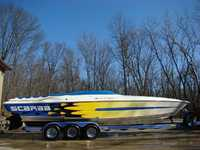 1999 Marysville Ohio 33 Wellcraft Scarab