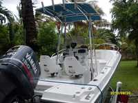 1997 Hollywood Florida 21 Pro Sport Center Console