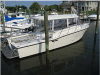1991 Wilmington North Carolina 35 Delta Boat Works 35 SportFisher