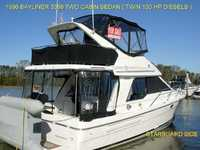 1996 Vancouver Washington 33 Bayliner 3388 Sedan Bridge