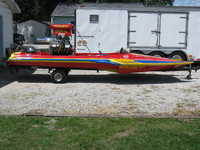 1983 Litchfield Illinois 19 COLE Drag Hydro