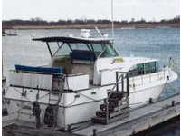 1972 Mill Basin New York 38 Betram 38 Salon Cruiser