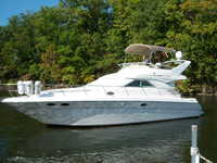 1997 Jacksonville Florida 40 Sea Ray 400 Sedan Bridge