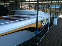 1998 LINN CREEK Missouri 33 Wellcraft scarab