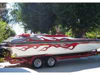 2003 Sanger California 26 Daves Custom Boats Mach 26