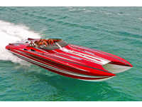 2012 Ft Lauderdale Florida 48 Skater Powerboats 482ss