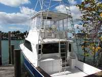 1987 Miami Beach Florida 48 Ocean Yachts Super Sport