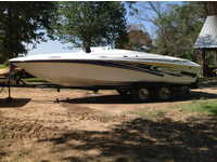 2004 New Boston Texas 25 Baja h2x