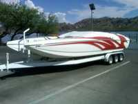 2008 Dallas Texas 28 Majic 28 Sceptor Open Bow