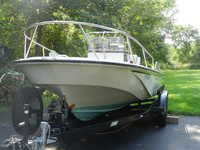 1989 Little Compton Rhode Island 18 Boston Whaler Outrage