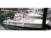 2005 Fort Bragg California 22 Twin Vee Catamaran Center Console