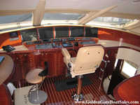 LAZZARA MOTOR YACHT Raised Pilot House Click to launch Larger Image
