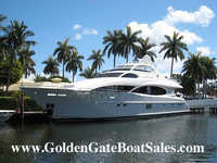 2004 st augustine Florida 106 LAZZARA MOTOR YACHT Raised Pilot House