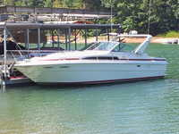 SeaRay 340 Cabin Cruiser Click to launch Larger Image