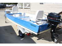 1964 Gulf Shores Alabama 14 Stauter-built Semi vee Bottom Fisherman