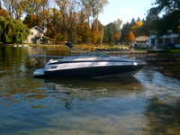 2006 Northville Michigan 23 CROWNLINE 220 CCR Cuddy Cabin