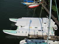 1991 GUATEMALA  60 CUSTOM BUILD MOTOR CATAMARAN CUSTOM BUILD POWER CAT