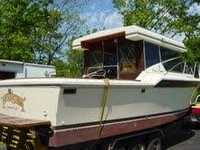 1984 Owosso Michigan 31 Chris Craft Commander