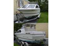 1993 Glenwood Maryland 24 Bayliner 2452 Cierra Express