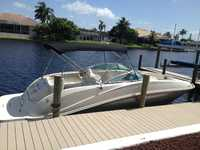 2008 Ft Myers Florida 26 Sea Ray 260 Sundeck