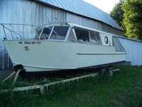 1960 Newport Michigan 29 Aluminum Cruisers Inc Marinette